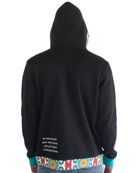 Watch Your Friends Flowing Hoodie | THC | urbanwear | hypebeast
