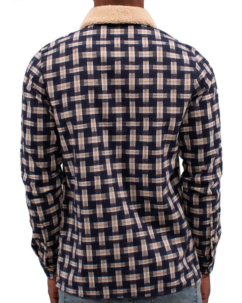 3D Plaid LS Shirt | THC | streetwear brands