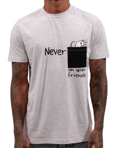 Never Rat Pocket Tee
