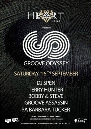 Heart Ibiza presents Groove Odyssey