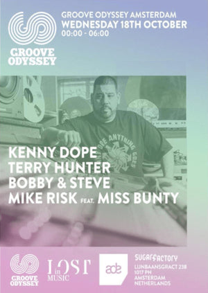 Groove Odyssey at ADE with Kenny Dope, Terry Hunter and more