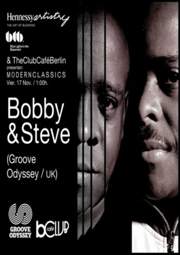 BOBBY & STEVE X MODERN CLASSICS AT THE CLUB CAFE BERLIN