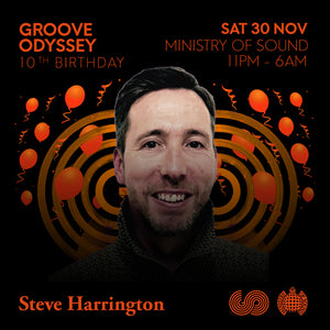 STEVE HARRINGTON GROOVE ODYSSEY SESSIONS 10th BIRTHDAY PROMO MIX