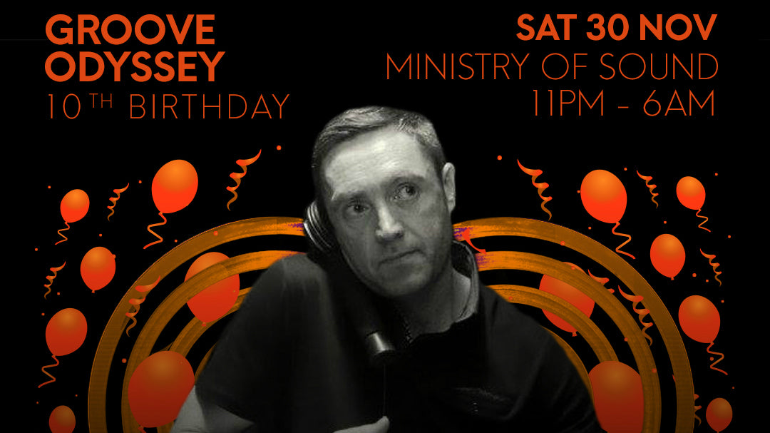 FUNKIE P GROOVE ODYSSEY SESSIONS 10th BIRTHDAY PROMO MIX