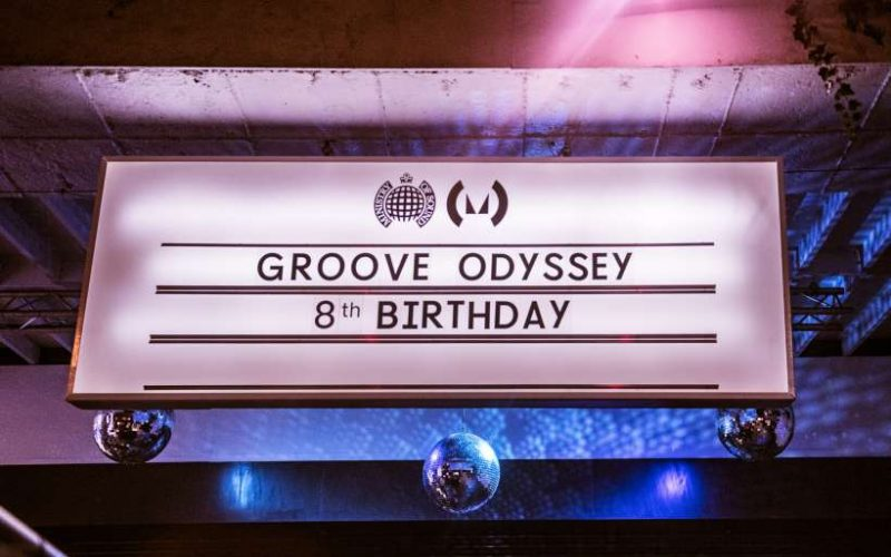 GROOVE ODYSSEY 8TH BIRTHDAY & ALBUM LAUNCH PARTY - NOVEMBER 2017