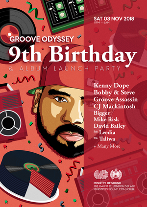 GROOVE ODYSSEY 9th BIRTHDAY