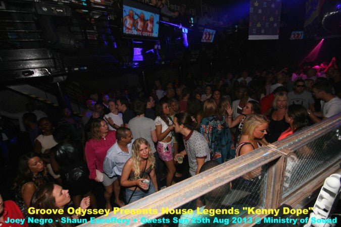 AUGUST 2013 - GROOVE ODYSSEY PRESENTS HOUSE LEGENDS - GALLERY 1