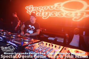 Groove Odyssey House Legends - 20th April 2014