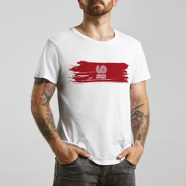 GROOVE ODYSSEY STRIPE T SHIRT