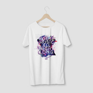 HOUSE MUSIC ALL NIGHT LONG TEE - MENS