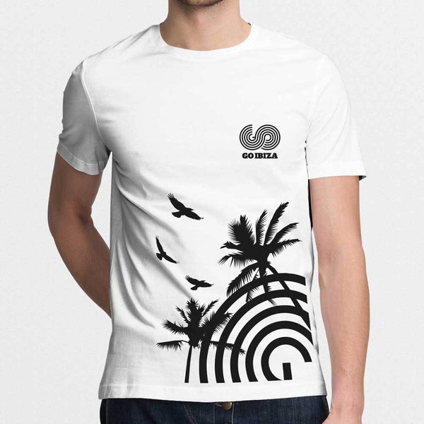 GO IBIZA PALM TEE - MENS
