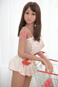 158cm 5.18ft Anna Realistic Sex Doll for Adult Male Real Feeling