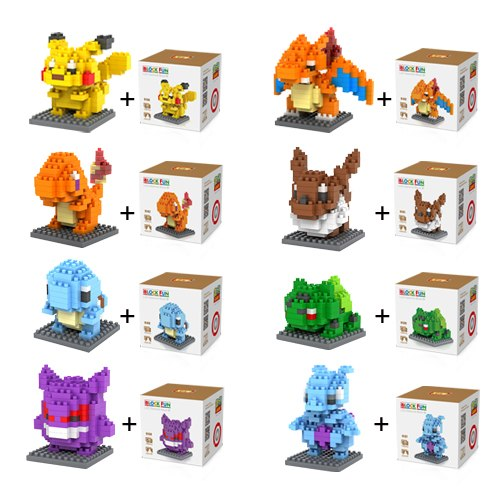 iBlock Fun Pokémon sets 8 in 1