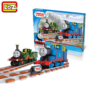 LOZ Thomas & friends Train Toy Thomas Emily Assemblage Mini Building Blocks Toy 2in1 Collector Edition For Ages 6+ 1805