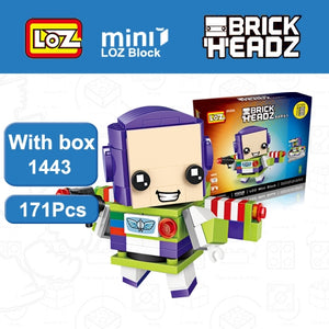 LOZ Brickheadz Toy Story Buzz Light year Woody Toys
