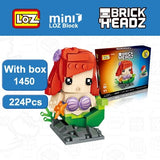 LOZ Brickheadz Ariel Little Mermaid