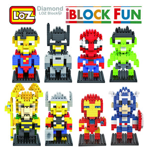iBlock Fun LOZ Super Hero