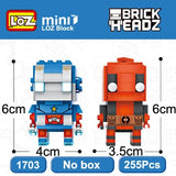 LOZ Brickheadz Batman and Joker Super Hero 2in1