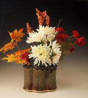 Basket Vase with 2 Handles