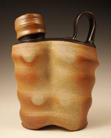 Black Shoulder Flask #1