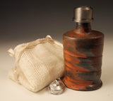 Metal Capped Flask