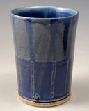 Striped Blue Cup (1 of 4)