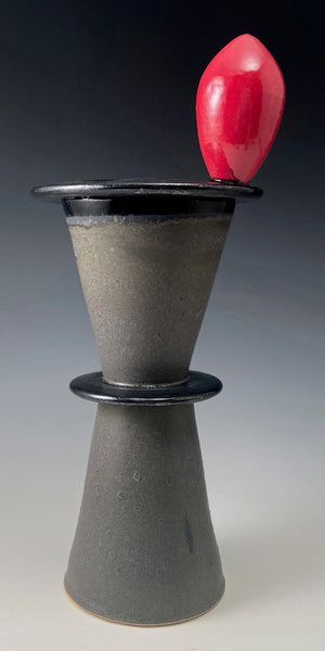 Vase with Red Egg