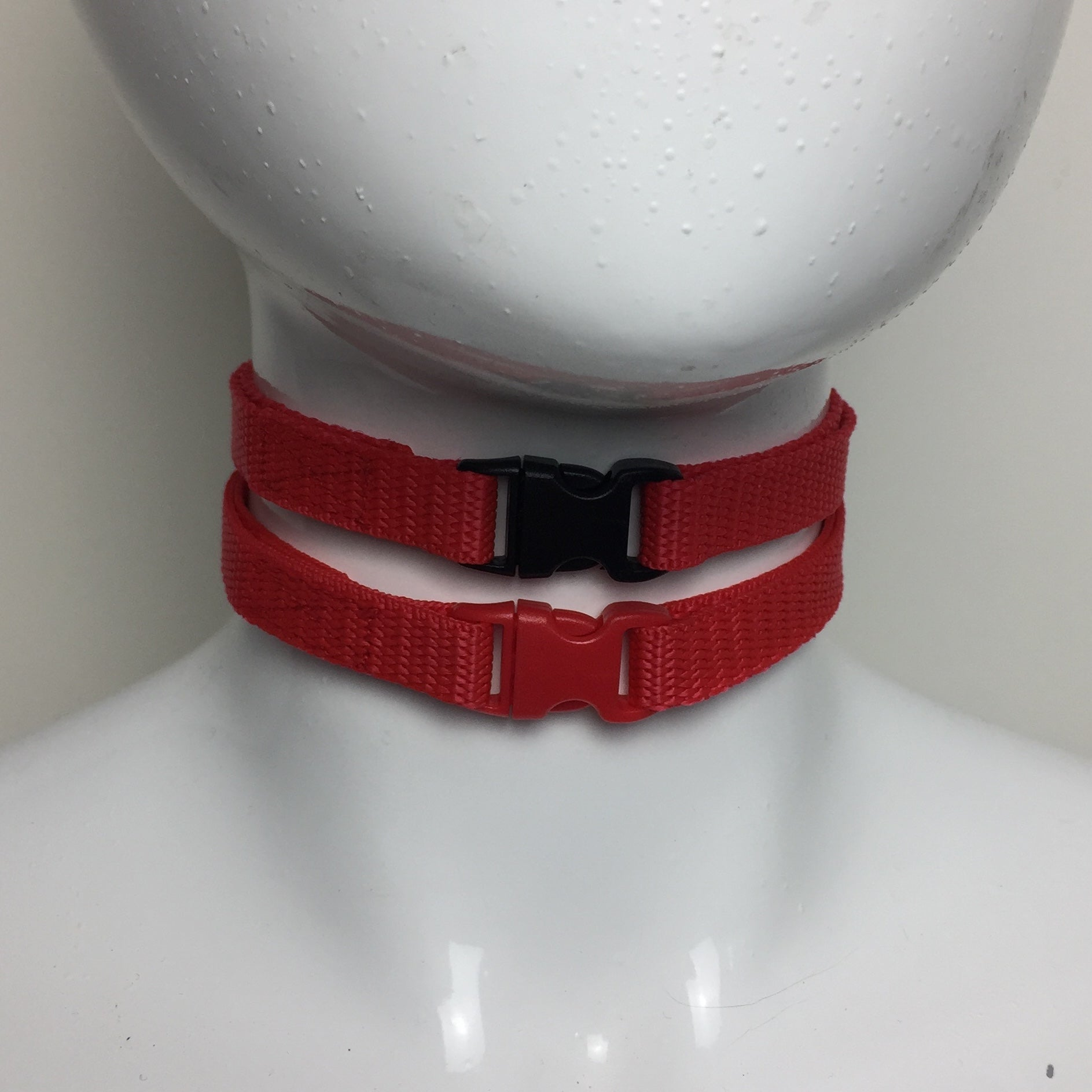 Red Buckle Choker