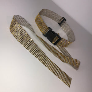 Medium Gold Diamanté Buckle Belt