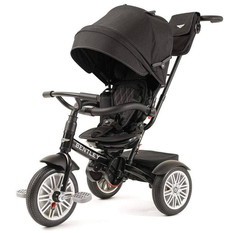 6 in 1 Onyx Black Bentley Stroller Trike