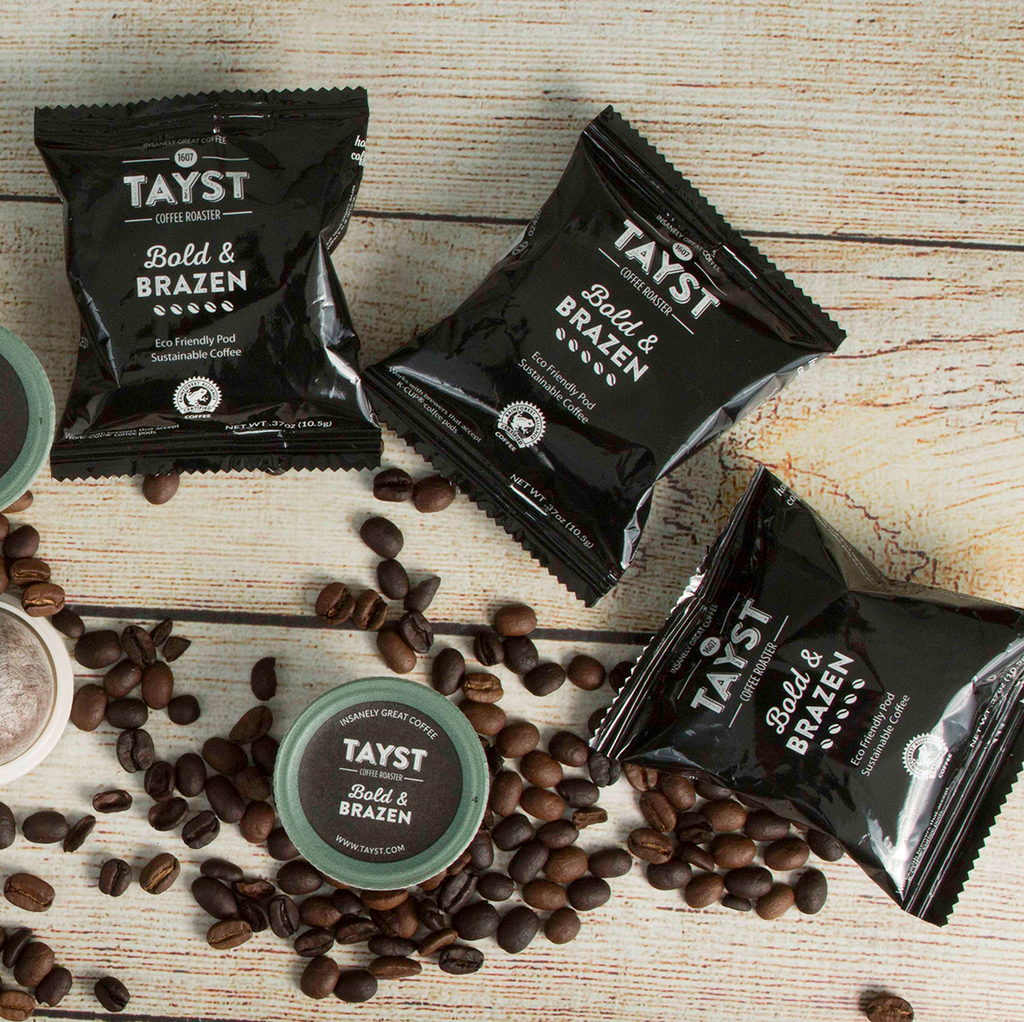 Bold & Brazen - Compostable Coffee Pod