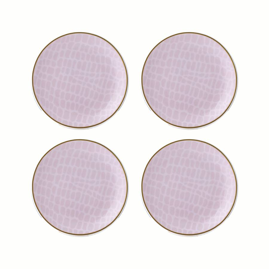 Lay - Set of Four Tidbit, Coaster Plates