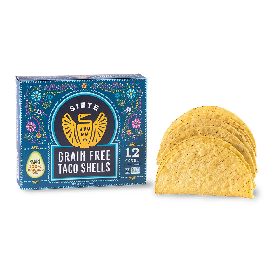 Grain Free Taco Shells #TacoTuesday #Approved