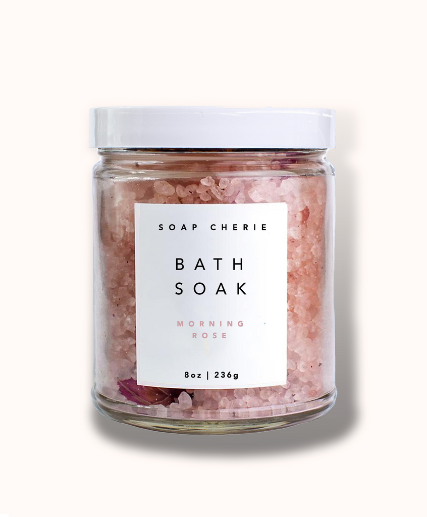 Morning Rose Bath Soak