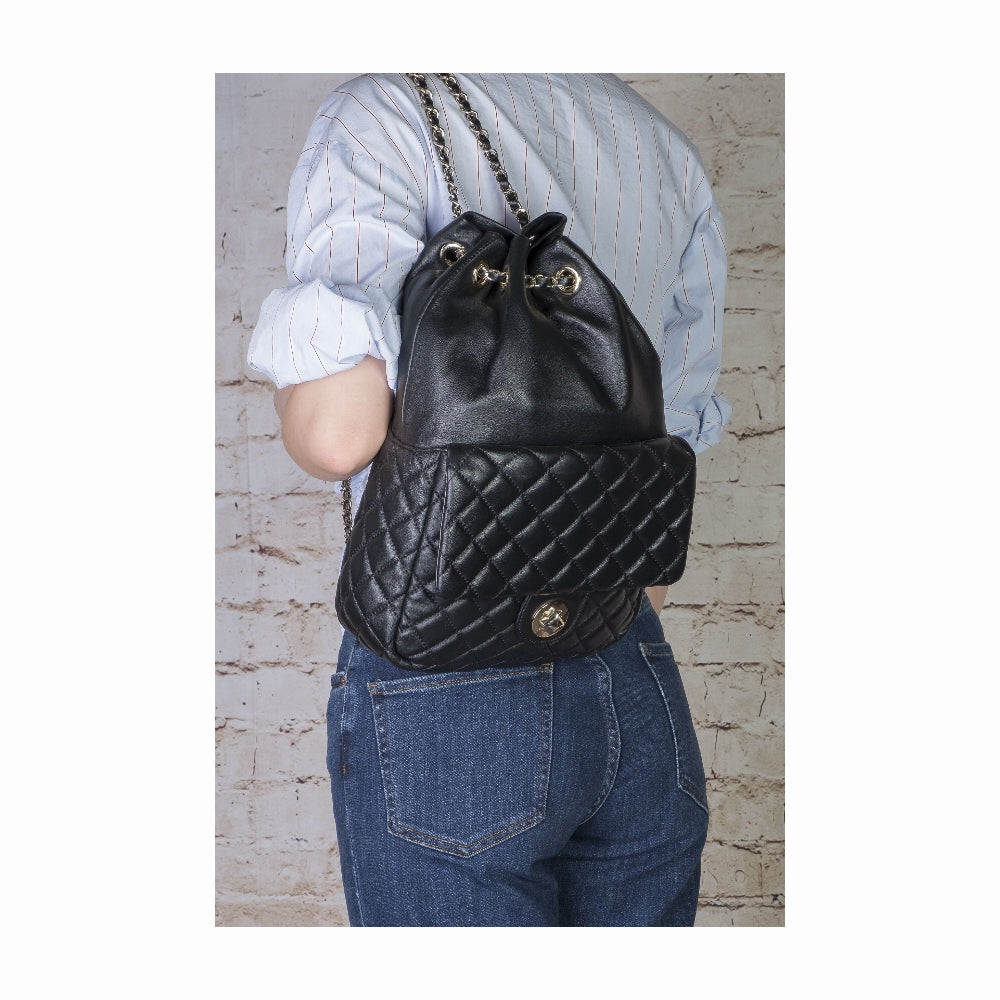 Purchase New York Puffy Patchwork Backpack #TAYbag