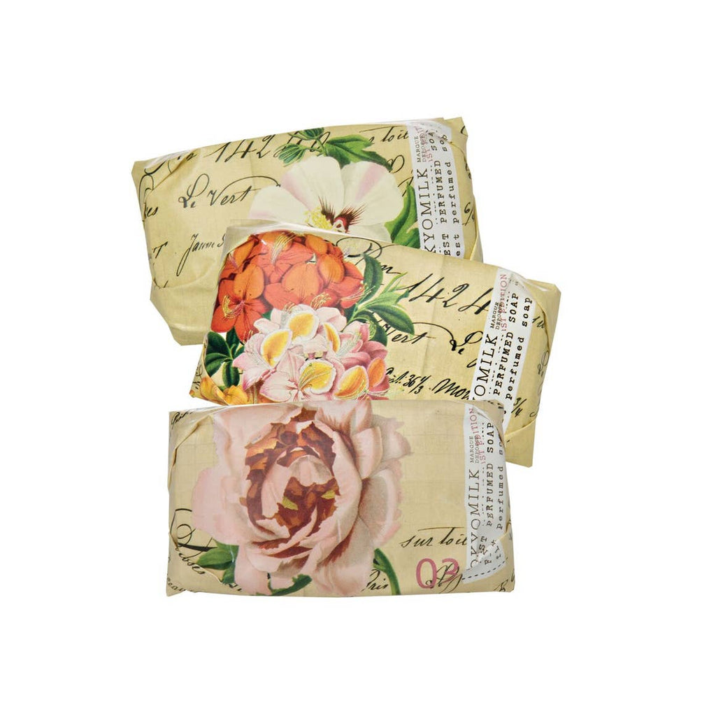 Botanica Collection - Brown and Floral Soap