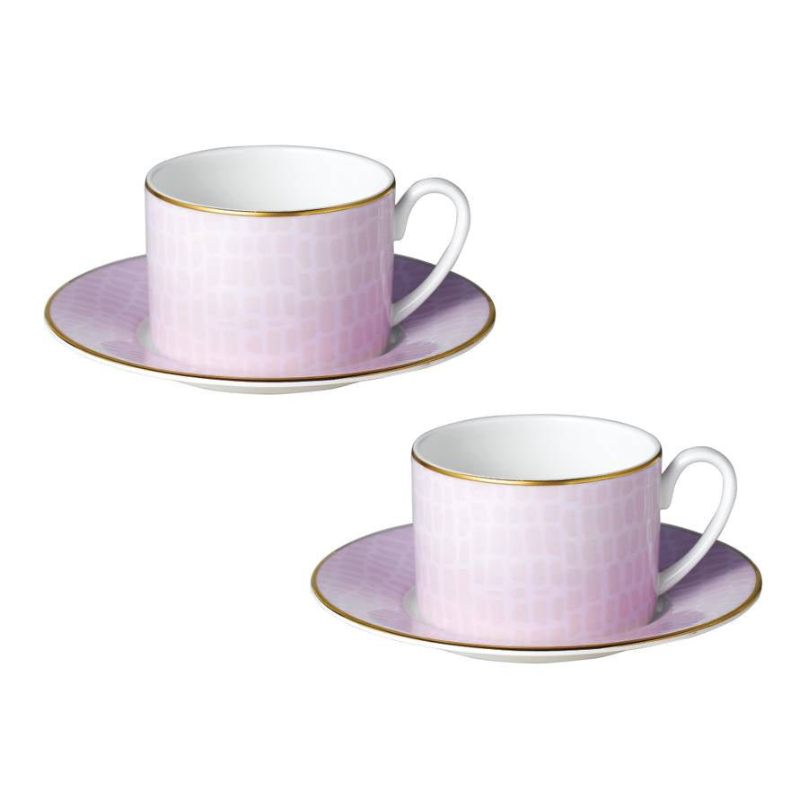 Lay - Set of Two Cups and Saucers