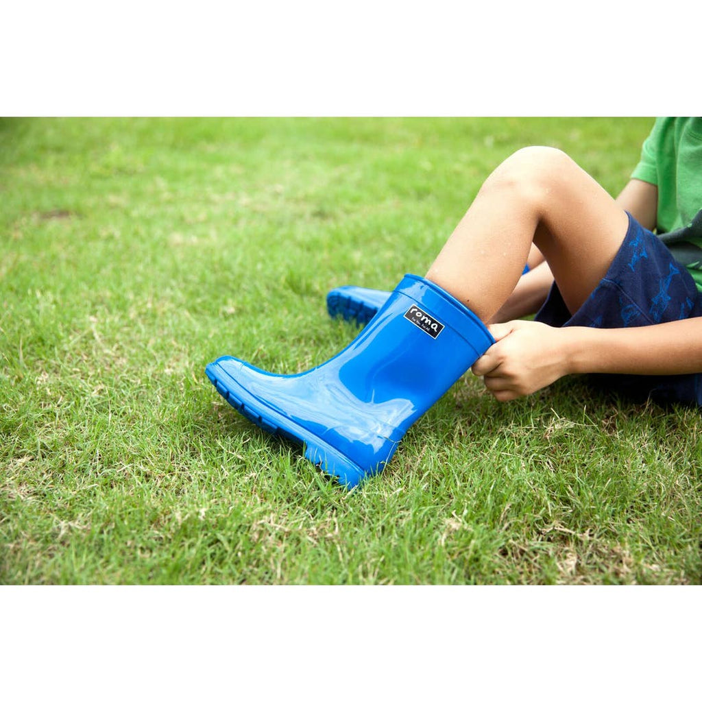 KID'S ABEL BLUE RAIN BOOTS #GivingPovertyTheBoot