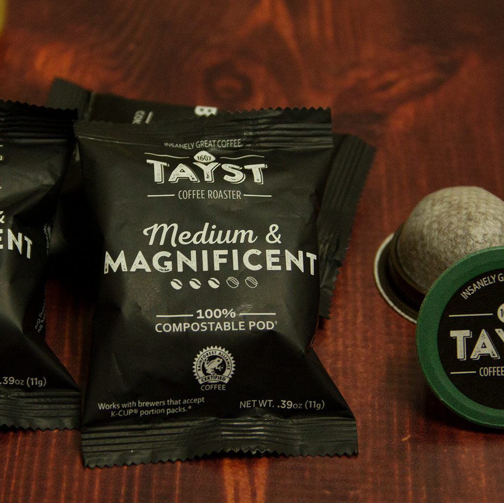 Medium and Magnificent - Compostable Coffee Pod