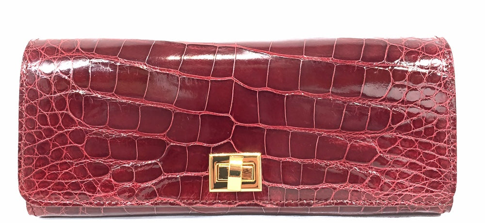 Lenox Hill American Alligator Clutch #TAYbag