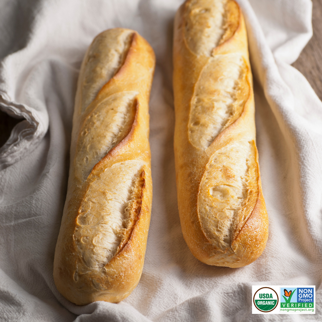 French Demi Baguettes - Long Shelf Life