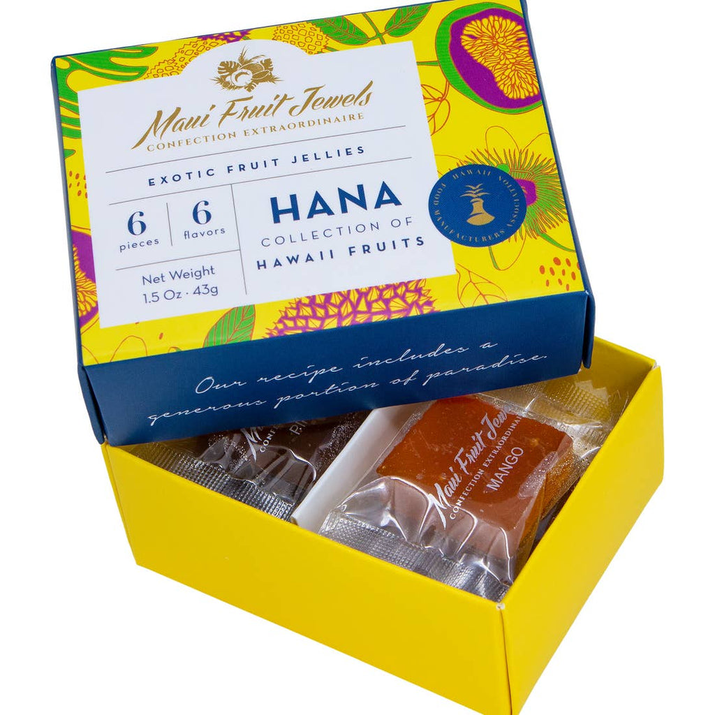 Exotic Fruit Jellies - Hana (Fruits) Collection