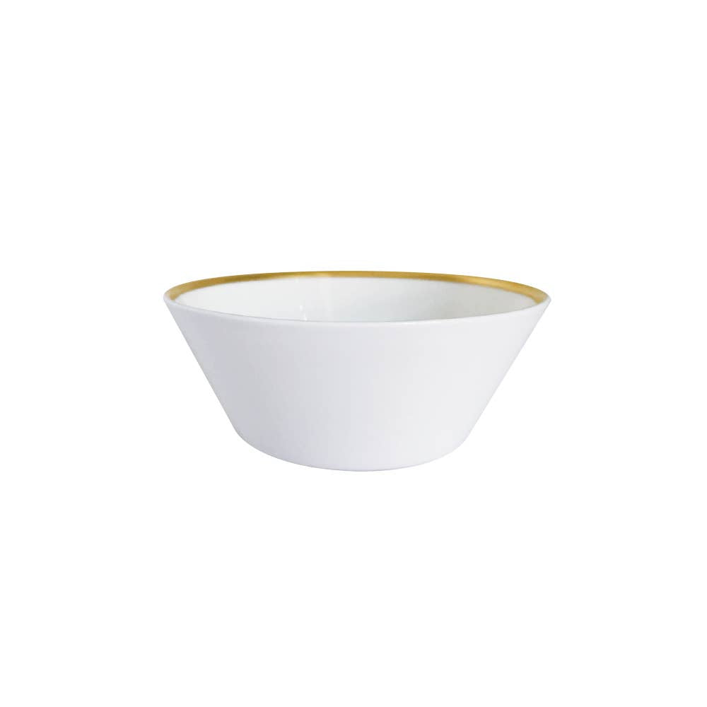 Golden Edge - Cereal & Soup Bowl
