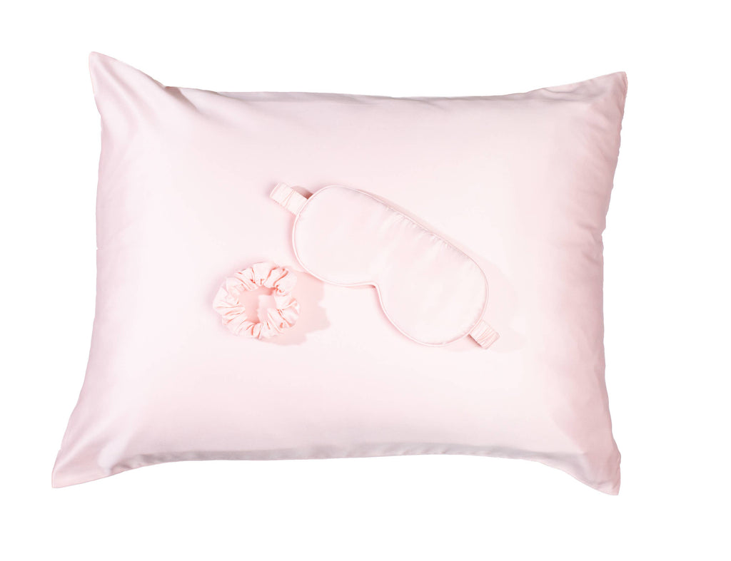 Goodnight Gorgeous Satin Sleep Set - Pink