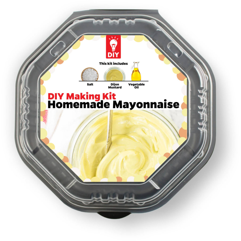 Homemade Mayonnaise DIY Making gift Kit
