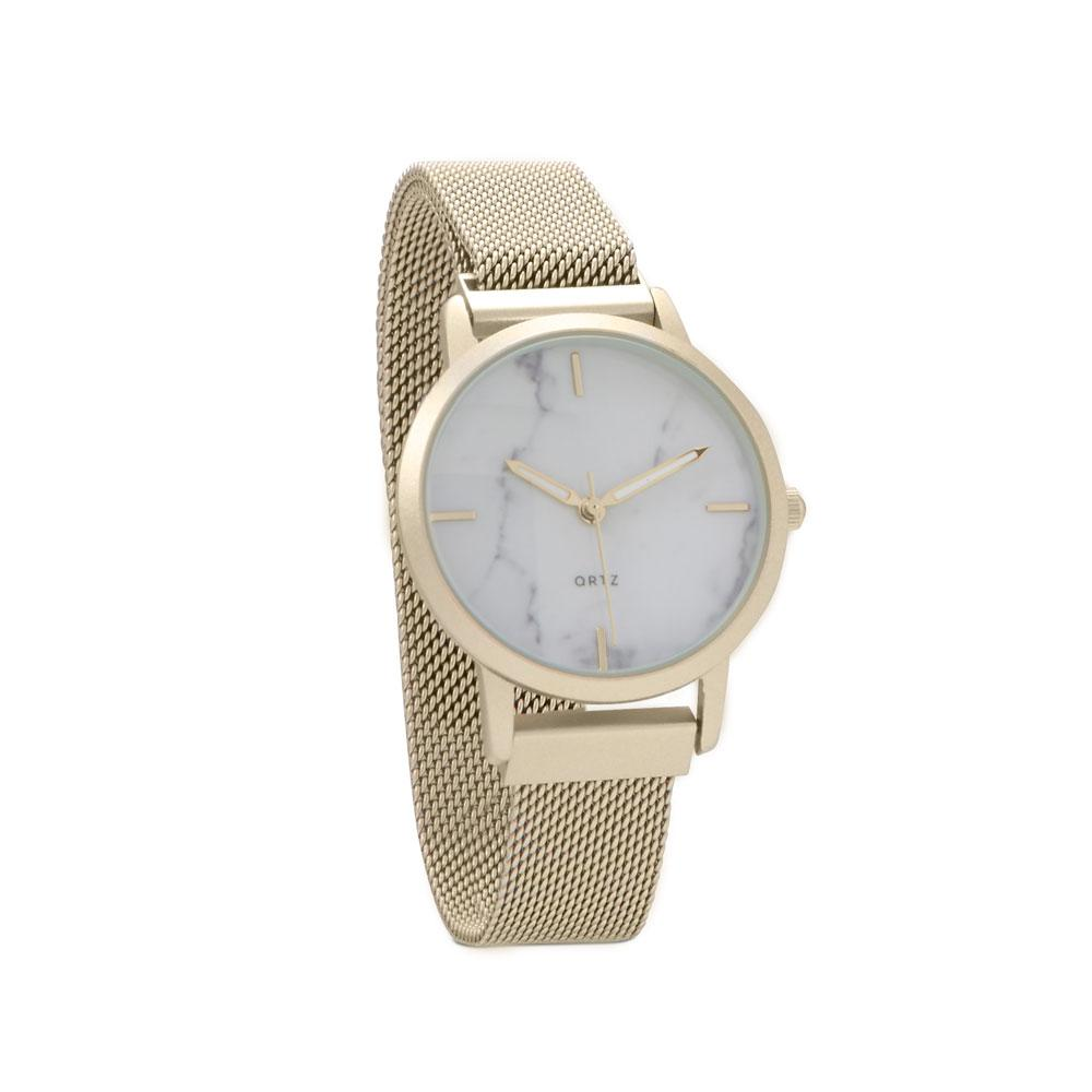 Gold Magnetic Band Watch