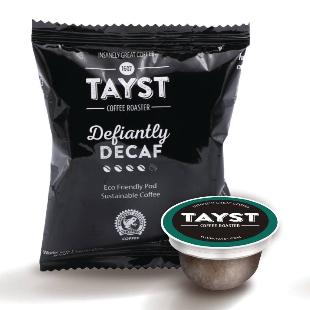 Defiantly Decaf - Compostable Coffee Pod
