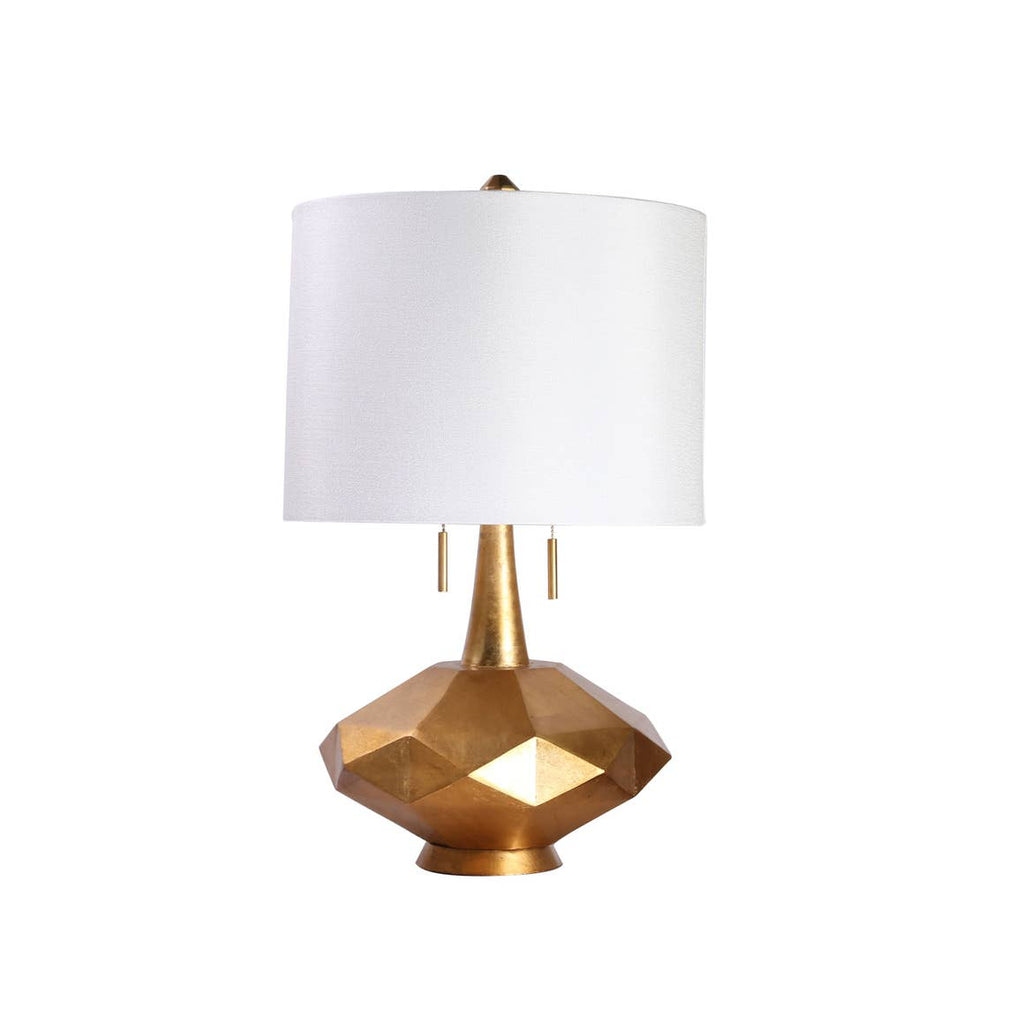Gold Sadie Twin Pull Table Lamp