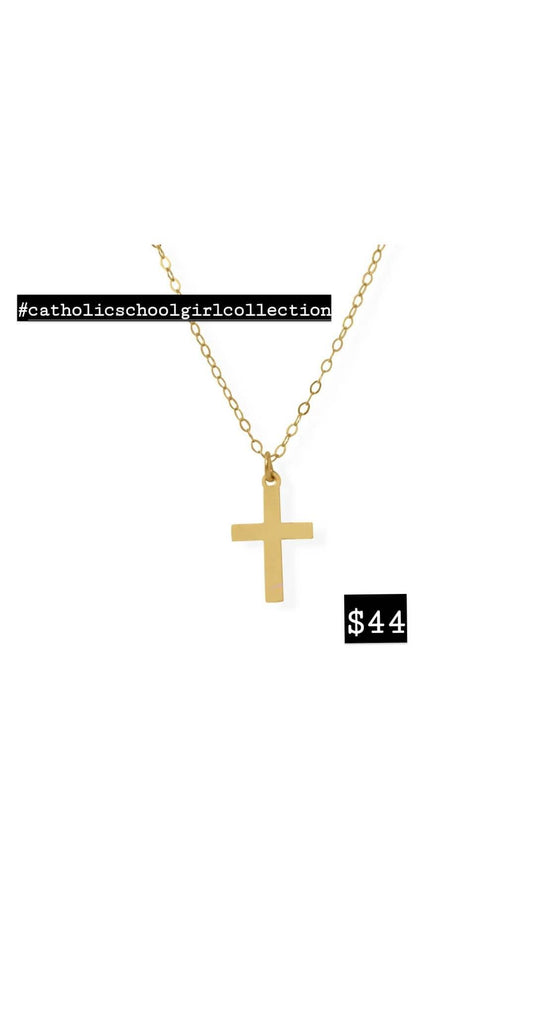 Catholic School Girl Collection Mini Cross
