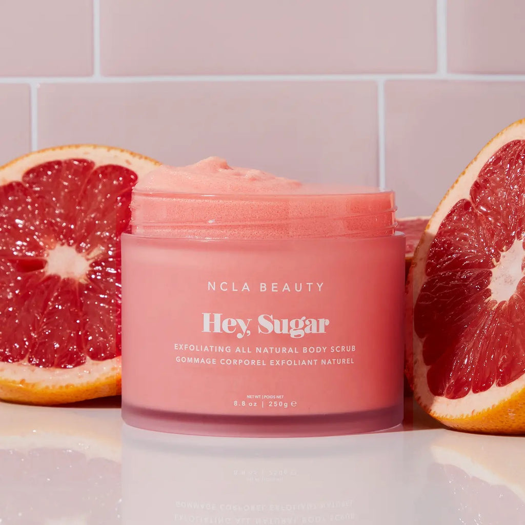 Hey, Sugar All Natural Body Scrub - Pink Grapefruit